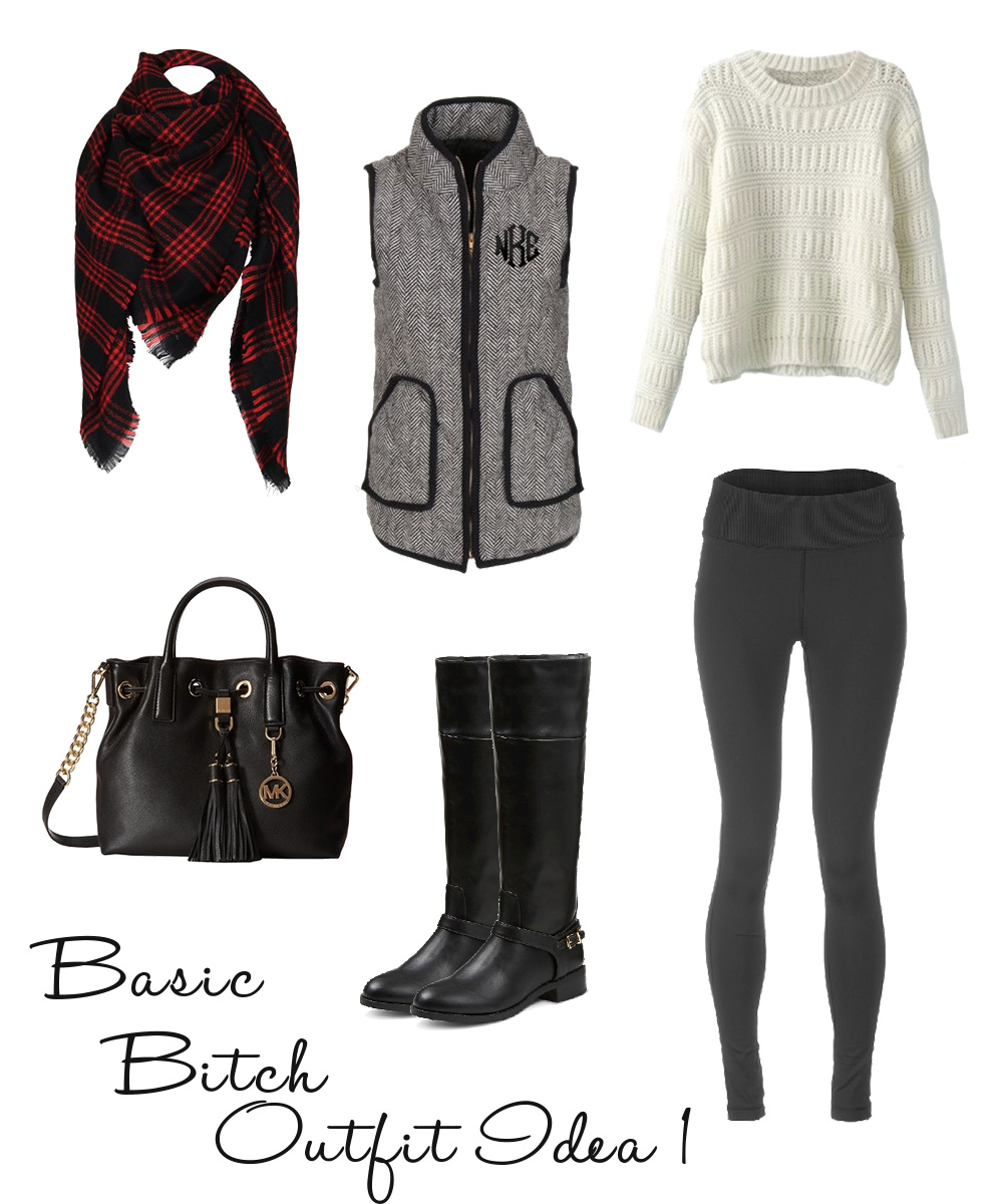 Basic Bitch Style – Outfit Idea 1 – Becoming Basic